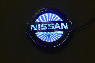 nissan logo 3d car