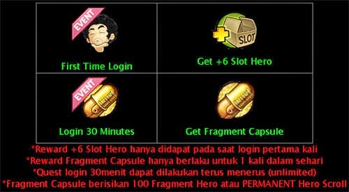 Event Capsule Hero Permanen Lost Saga Indonesia