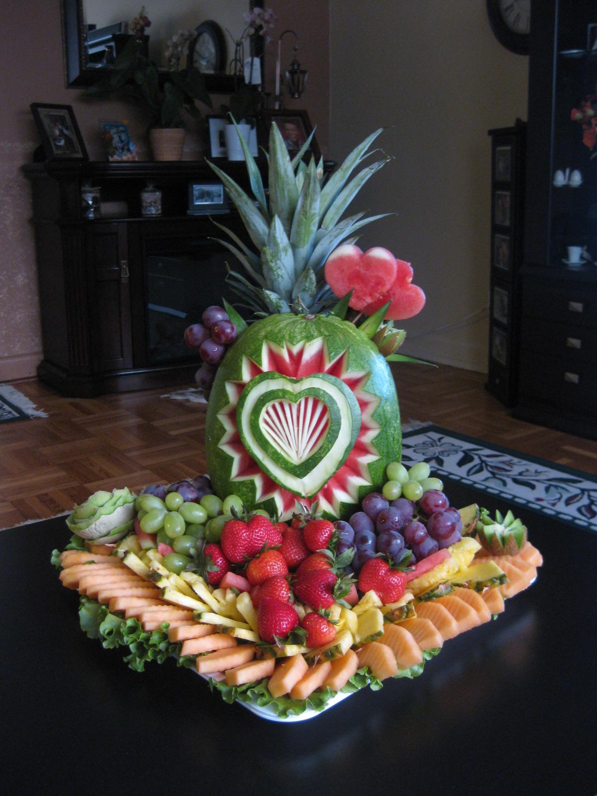 Fruit platter can say it september