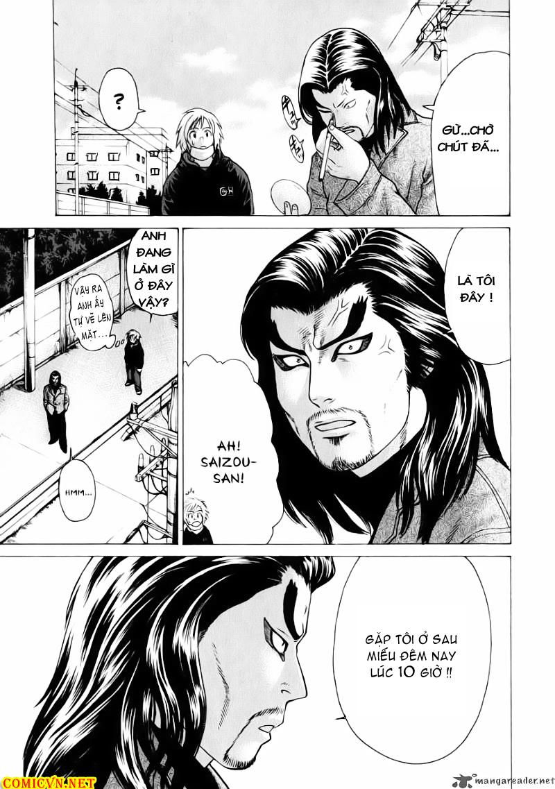Karate Shoukoushi Kohinata Minoru chap 70 Trang 13
