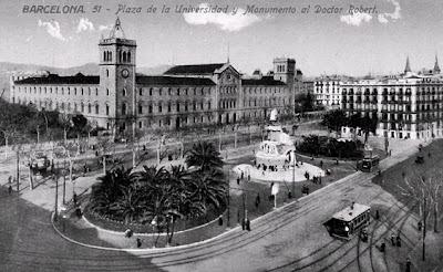 Barcelof lia pla a universitat ii 1910 1940 - Placa universitat barcelona ...