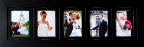 3 slot 5x7 picture frame