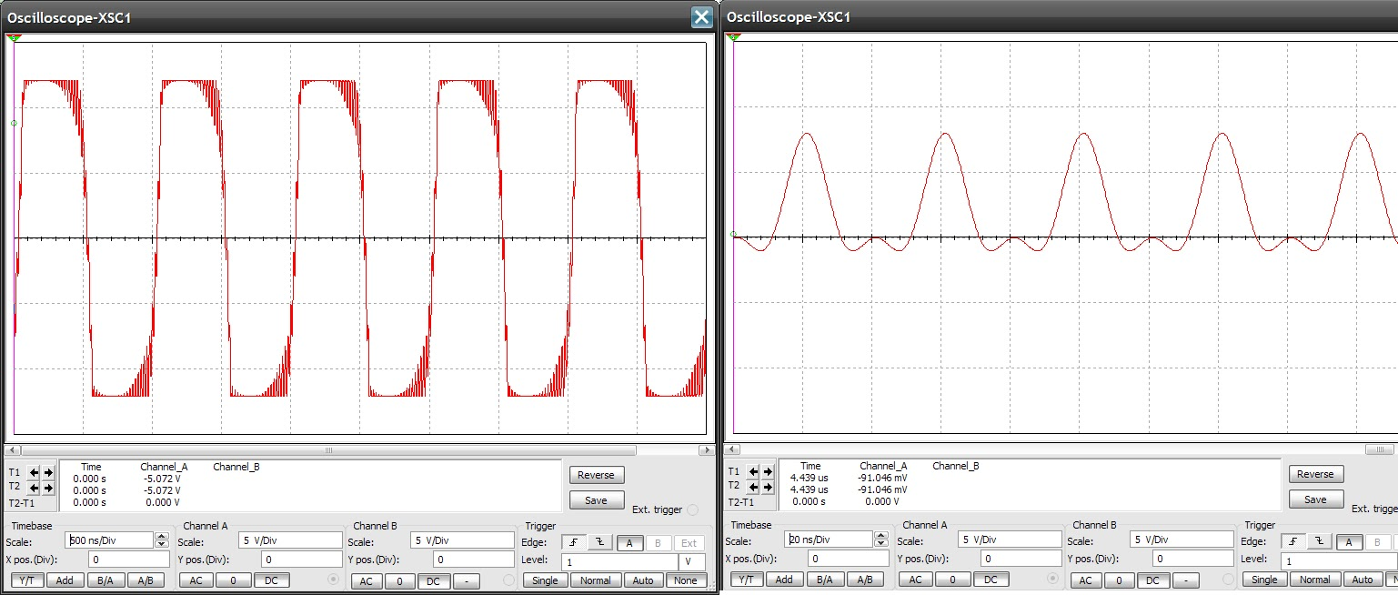 the answer is 42!! filter for the ad9835 function generatoroscilloscope screenshots showing the output of the ad9835 when it\u0027s output hasn\u0027t been filtered
