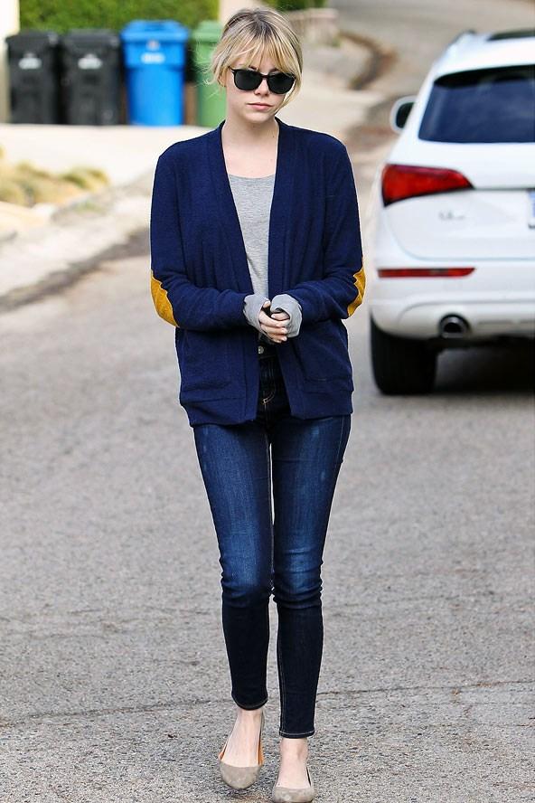Blue Beirut Celebrity Style Of The Week Emma Stone