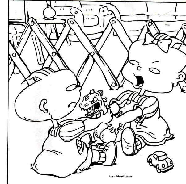 Free Printable Rugrats Coloring Pages Everything