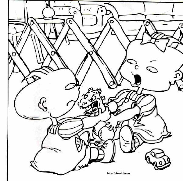 Rugrats Coloring Pages Nick