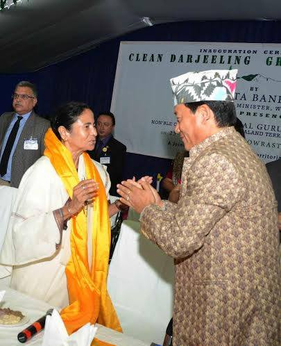 Mamata Banerjee withdraws cases against GJM launches green project for Darjeeling