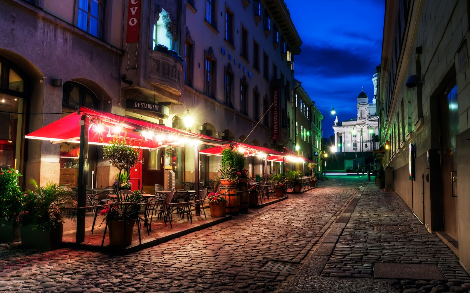 Street of Helsinki City