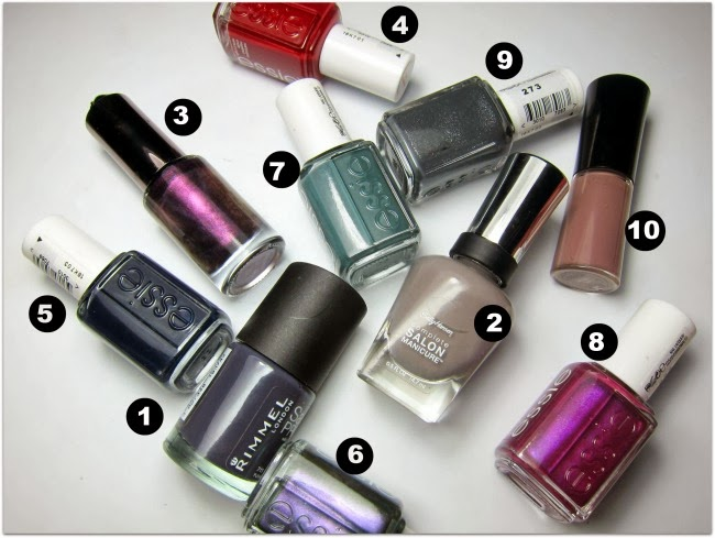 Top Autumn/Winter Nail Colours