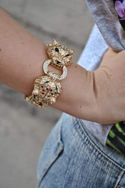 bracciale tigre majique mariafelicia magno fashion blogger colorblock by felym blog di moda italiani blogger italiane di moda fashion blog italiani majique london bracelet bracciale tigre