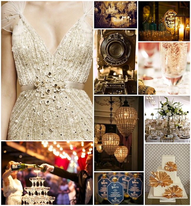 Vintage Glam Wedding Ideas If You Want A Glamorous Theme Find Ballroom With Crystal Chandeliers For The Venue