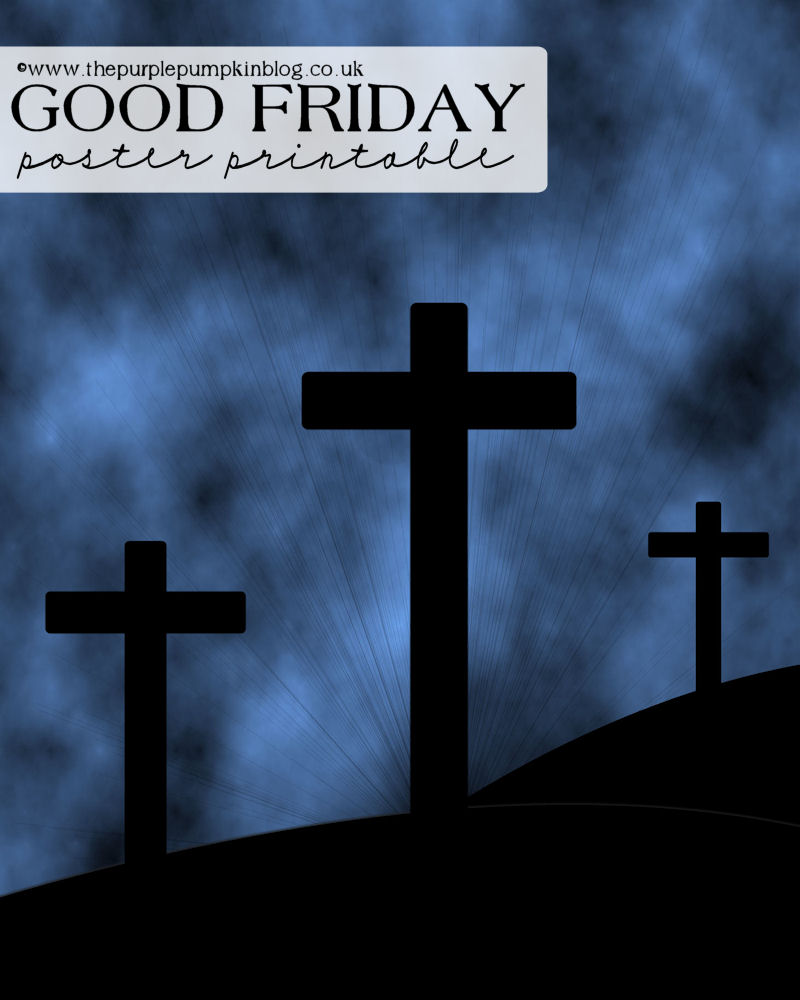 Good Friday Poster – Free Printable