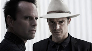 Walton Goggins, Timothy Olyphant in Justified