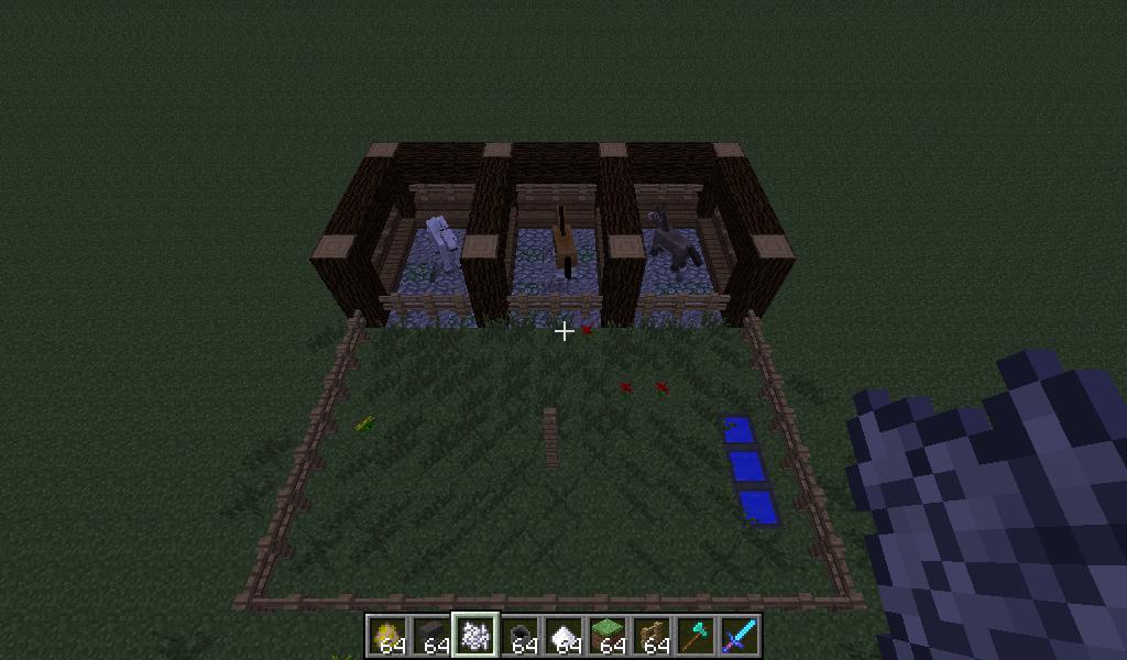 Minecraft how to breed horses and donkeys