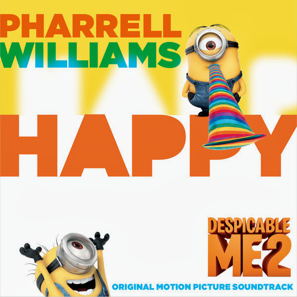 "Pharrell Williams - Happy (From ""Despicable Me 2"") [Single] Cover"