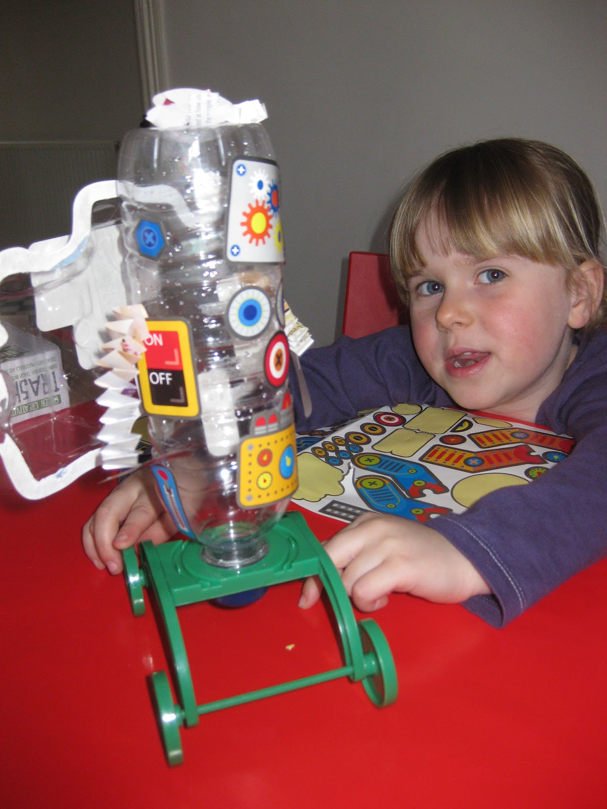 Me and my shadow spark their interest in science for Model out of waste materials