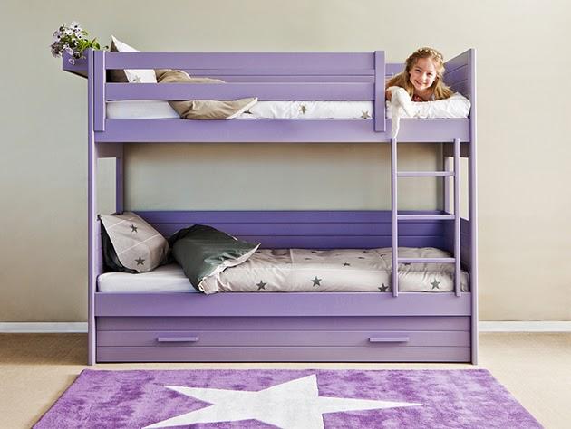 Dormitorios infantiles para ni as ni os de 0 1 2 3 4 y 5 a os for Cuartos para ninas literas