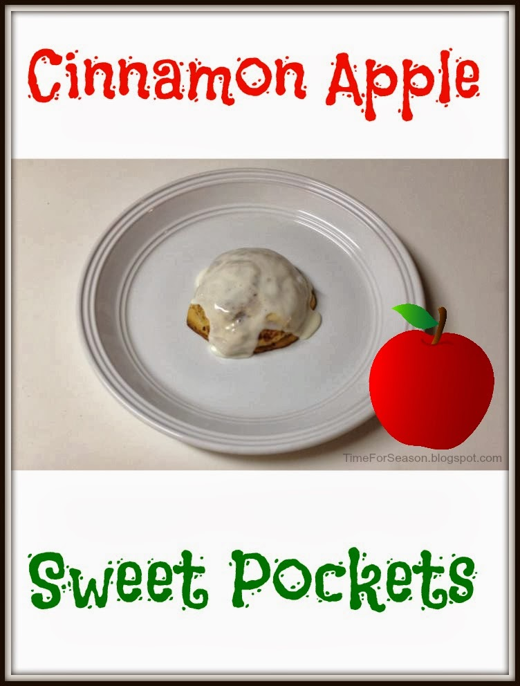 Cinnamon Apple Sweet Pockets: Pillsbury Sweet Rolls