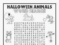 Halloween Word Searches Printable Hard