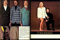 propaganda Vila Romana - 1972; Moda anos 70; propaganda anos 70; história da década de 70; reclames anos 70; brazil in the 70s; Oswaldo Hernandez