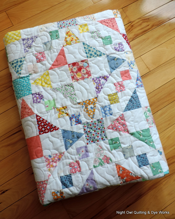 Night Owl Quilting & Dye Works: Emily's Wedding Quilt : 54 40 or fight quilt - Adamdwight.com