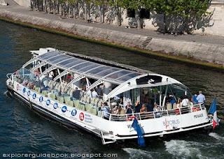 Batobus cruise Paris