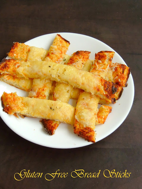 Gluten free bread sticks, No flour Bread sticks