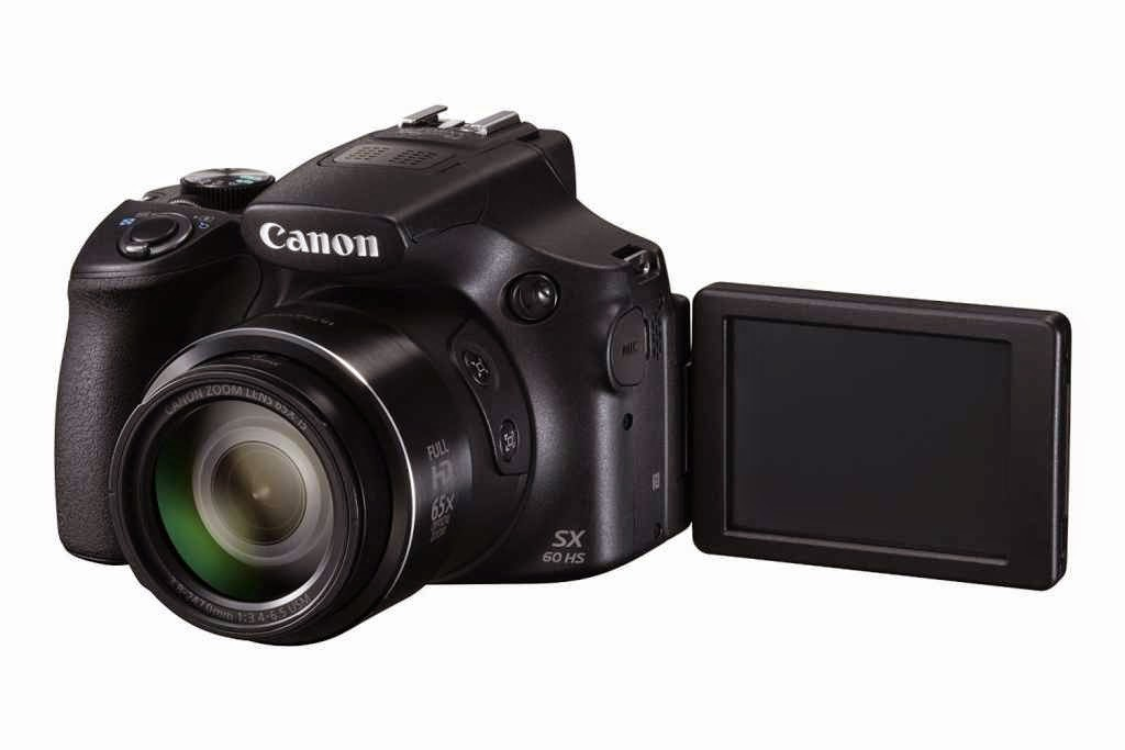 Canon SX60 HS LCD