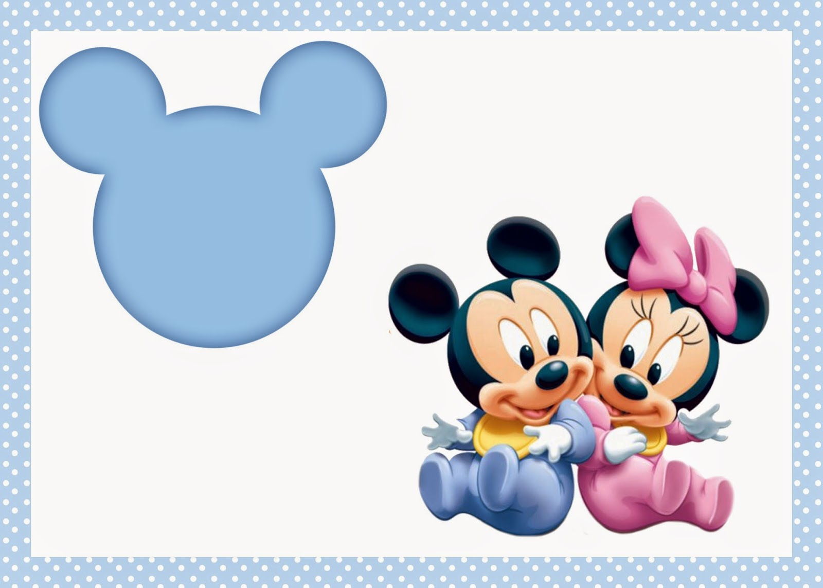 free printable invitation: Mickey Mouse Free Printable!!!