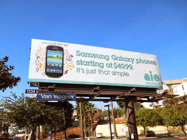Samsung Galaxy phones AIO wireless billboard