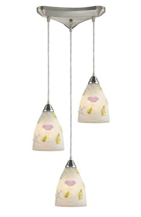 coastalicious seashore ceiling pendant lights from elk