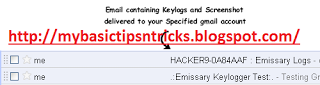 facebook gmail yahoo hotmail hack with keylogger