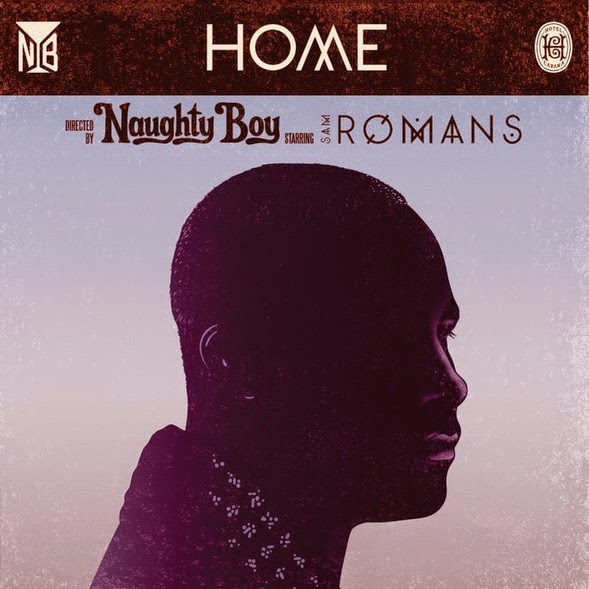 Naughty Boy - Home (feat. SAM ROMANS) - Single Cover