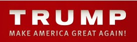 Click Trump sign to find out more about him