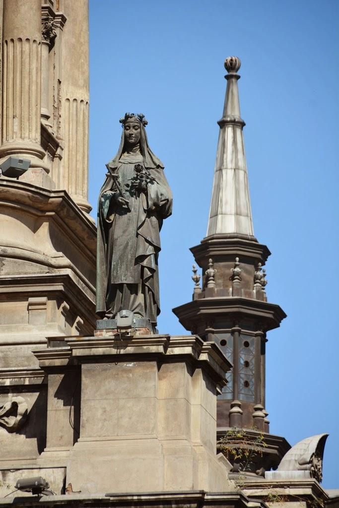 Cathedral of Santiago de Chile exterior