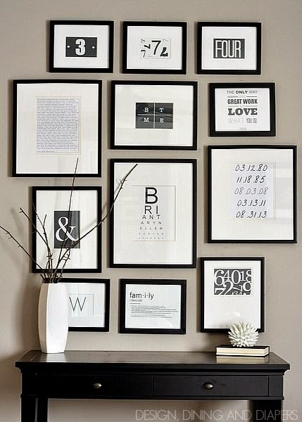 Diy Gallery Wall Easy House Of Hargrove