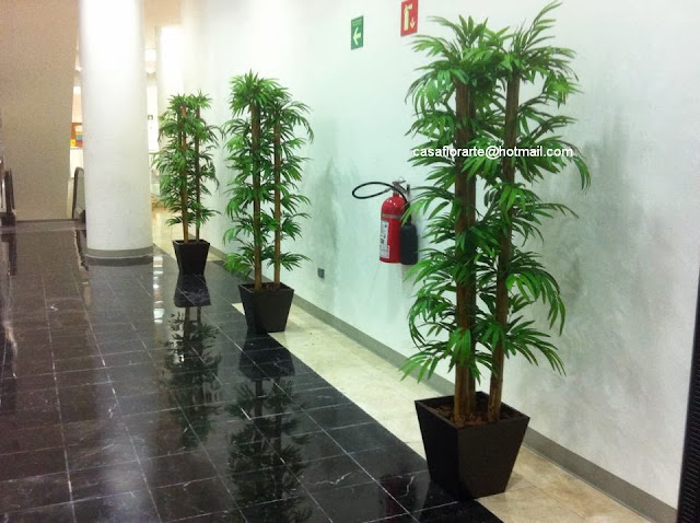 Casa florarte accesorios y articulos para decoraci n for Plantas decorativas para oficina