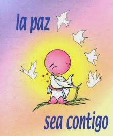 """""""Paz a vosotros"""""""