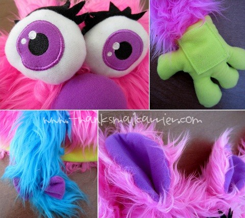 Twinkley Eyes Puppet Monster