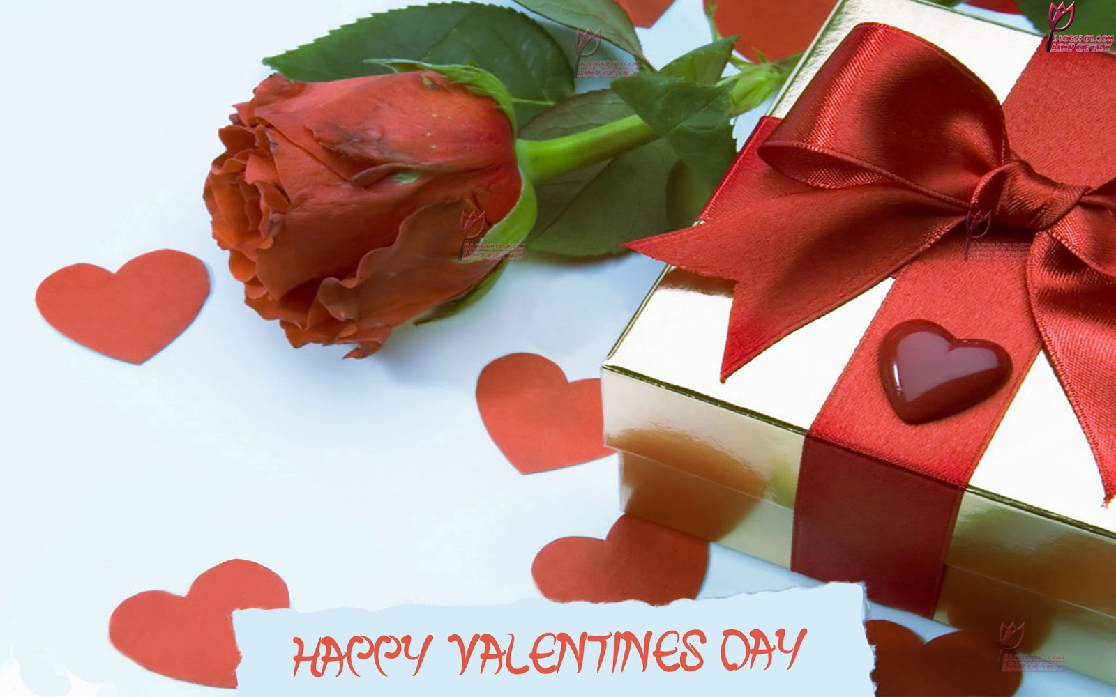 Happy Valentines Day Wishes Wallpaper With A Special gift Image HD