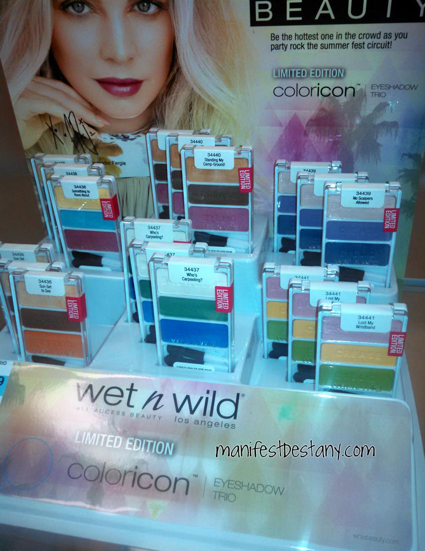 Wet n Wild Limited Edition Summer 2014 trios