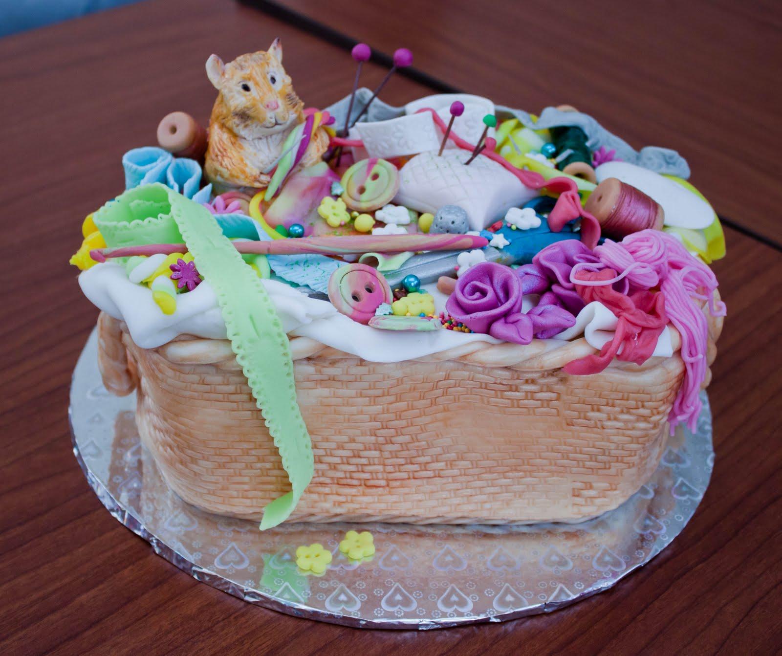 Торт хомяк фото 3