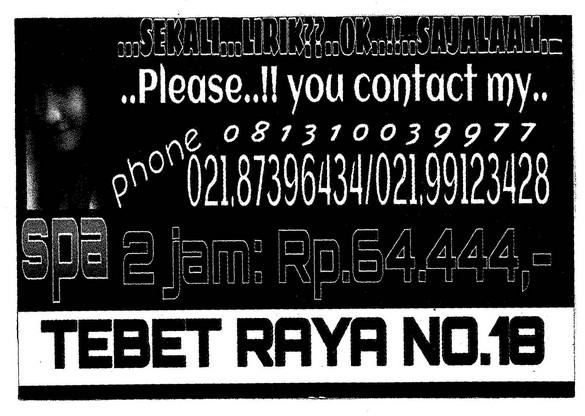 Spa Tebet Raya No18