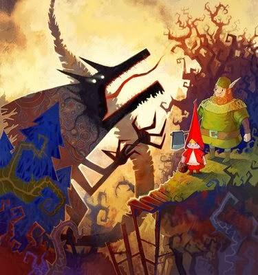 Baśnie na warsztacie, baśnie braci Grimm, Czerwony Kapturek, Red Riding Hood, Mateusz Świstak