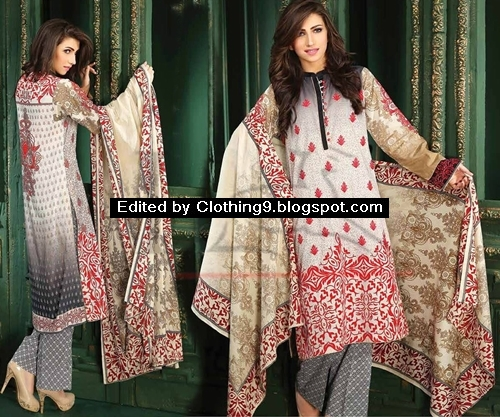 Lala Classic Cotton Embroidered Vol 2