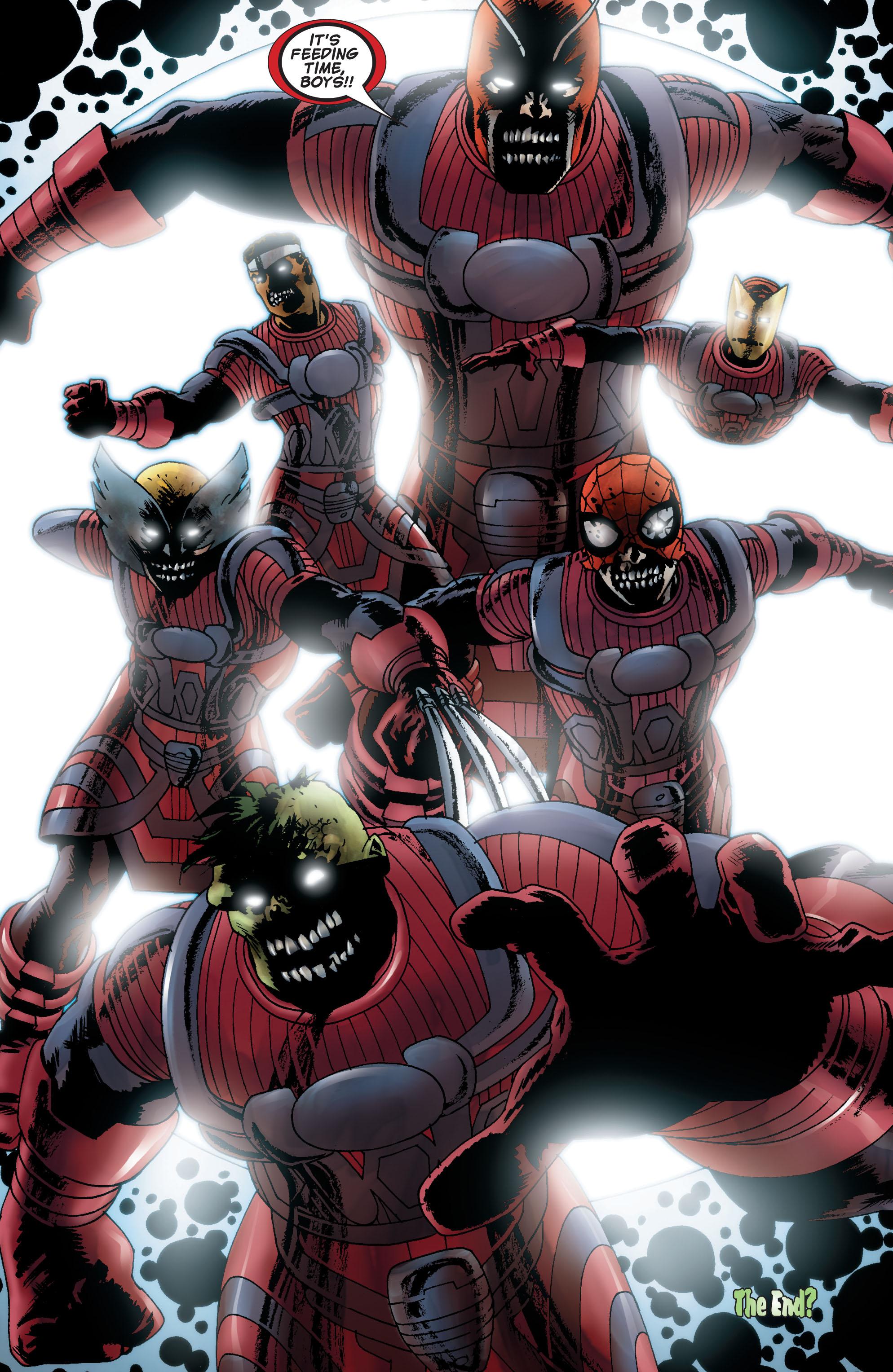 Marvel Zombies (2006) #5 #6 - English 21