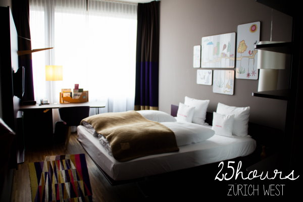 25hours Hotel Zürich West - Gold Zimmer