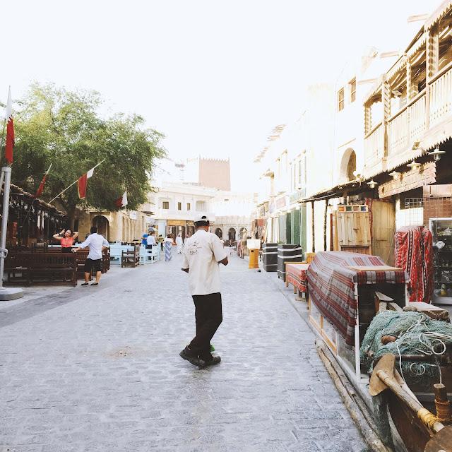 Souq Waqif in Doha Qatar