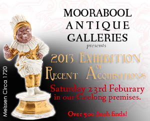 2013 Exhibition of Antique Ceramics, Geelong, Australia