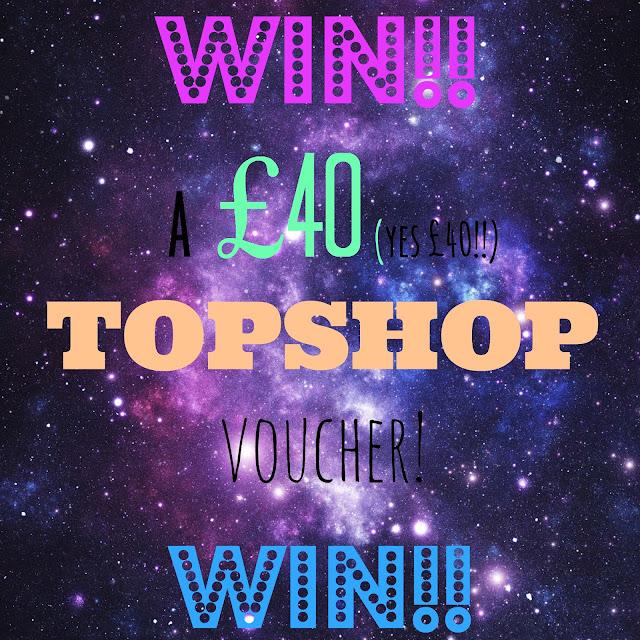 Giveaway // Win a £40 Topshop voucher!